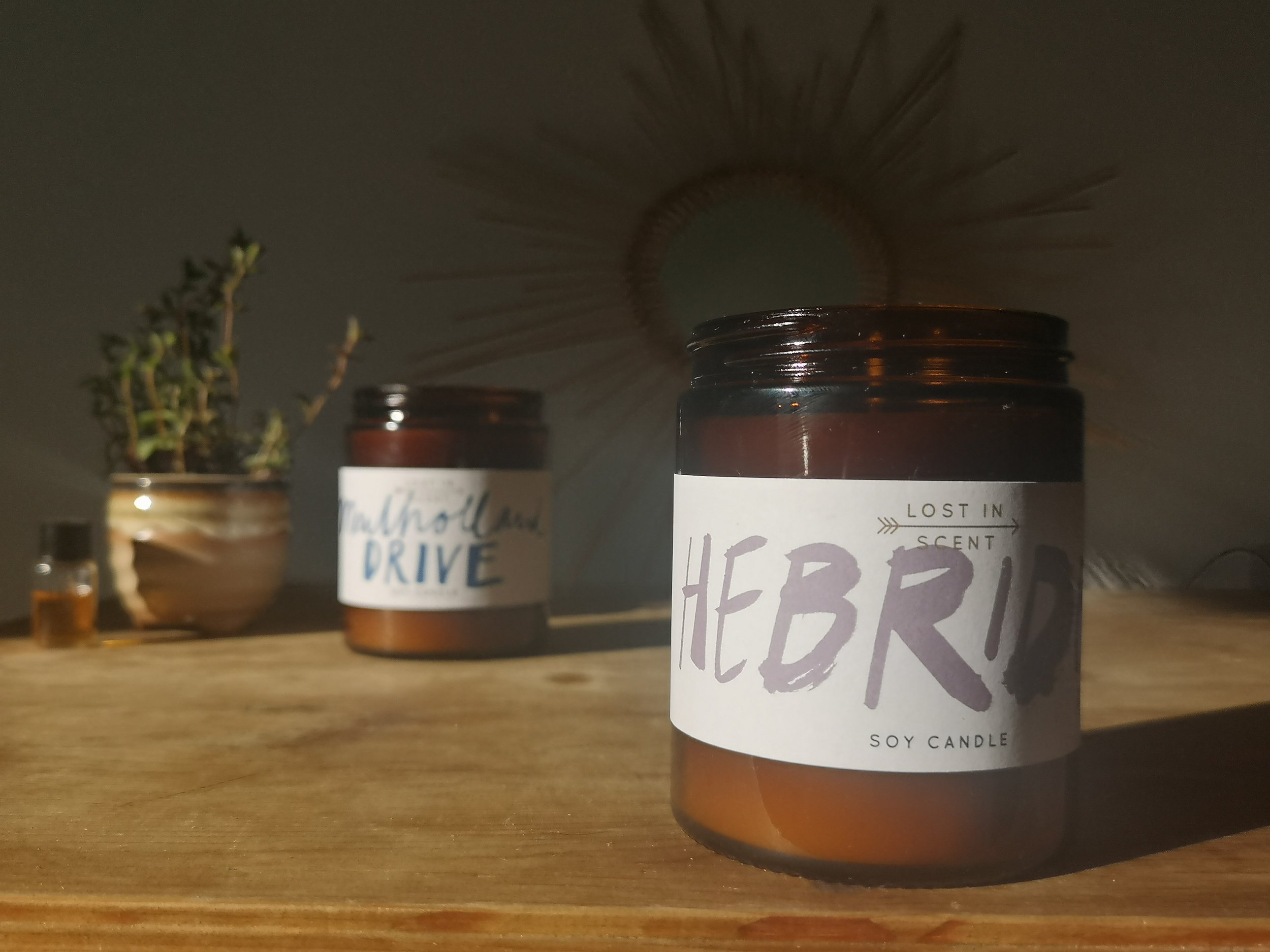 Lost in Scent - Soy candles - Hebrides