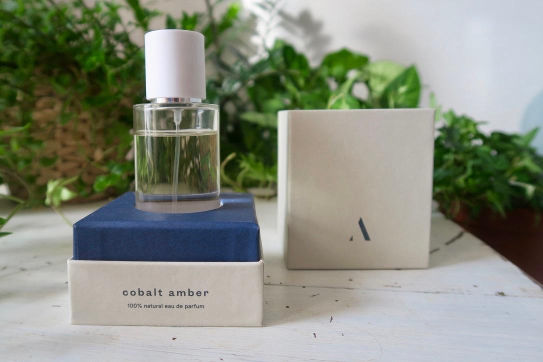 abel natural perfumes organic green cobalt amber review