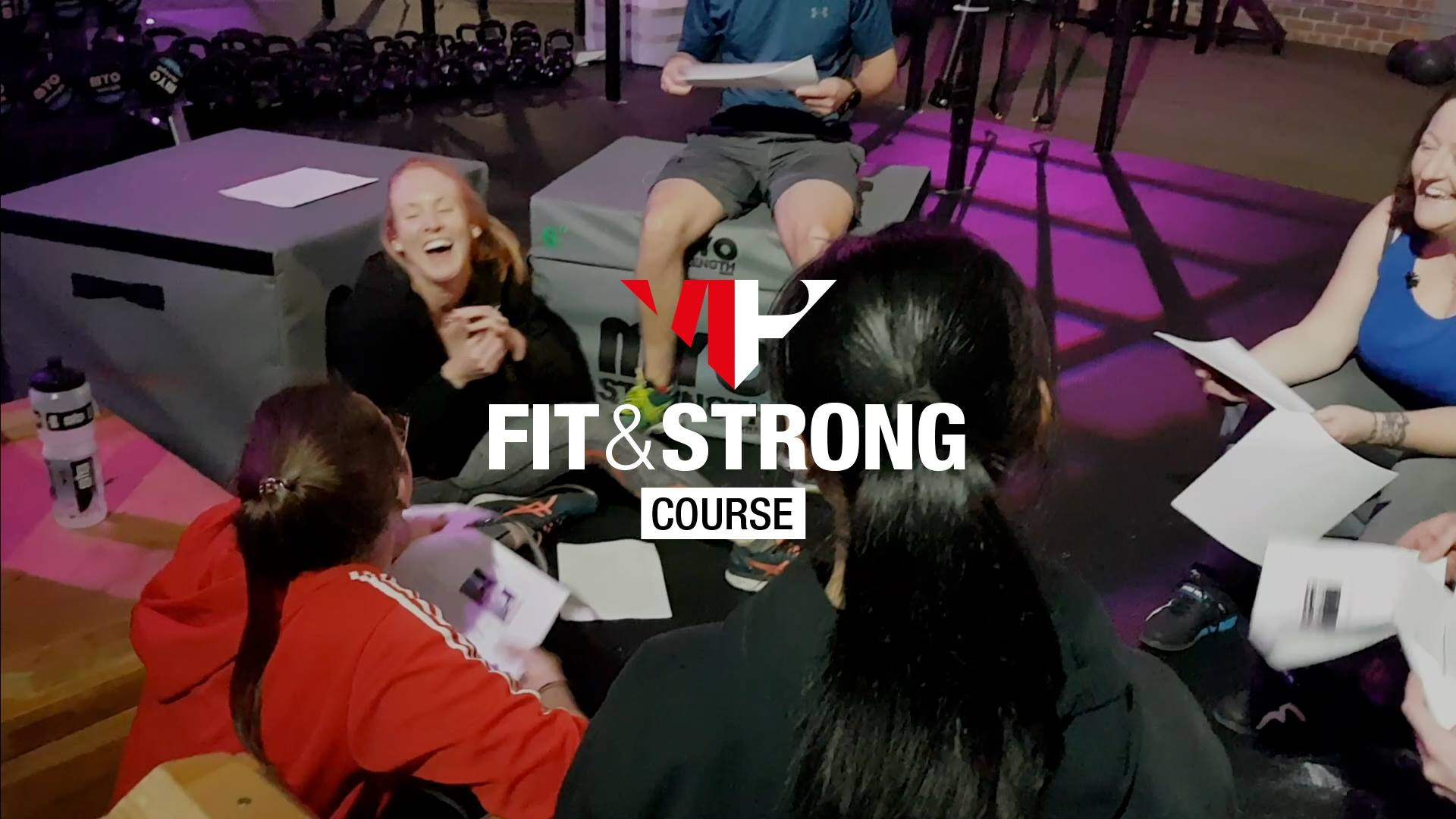 We only have 6 places left on our upcoming morning Fit & Strong course starting on Monday 10th June.      To help you make your decision and to avoid you missing your chance to book your place we have listed below some information about the course.