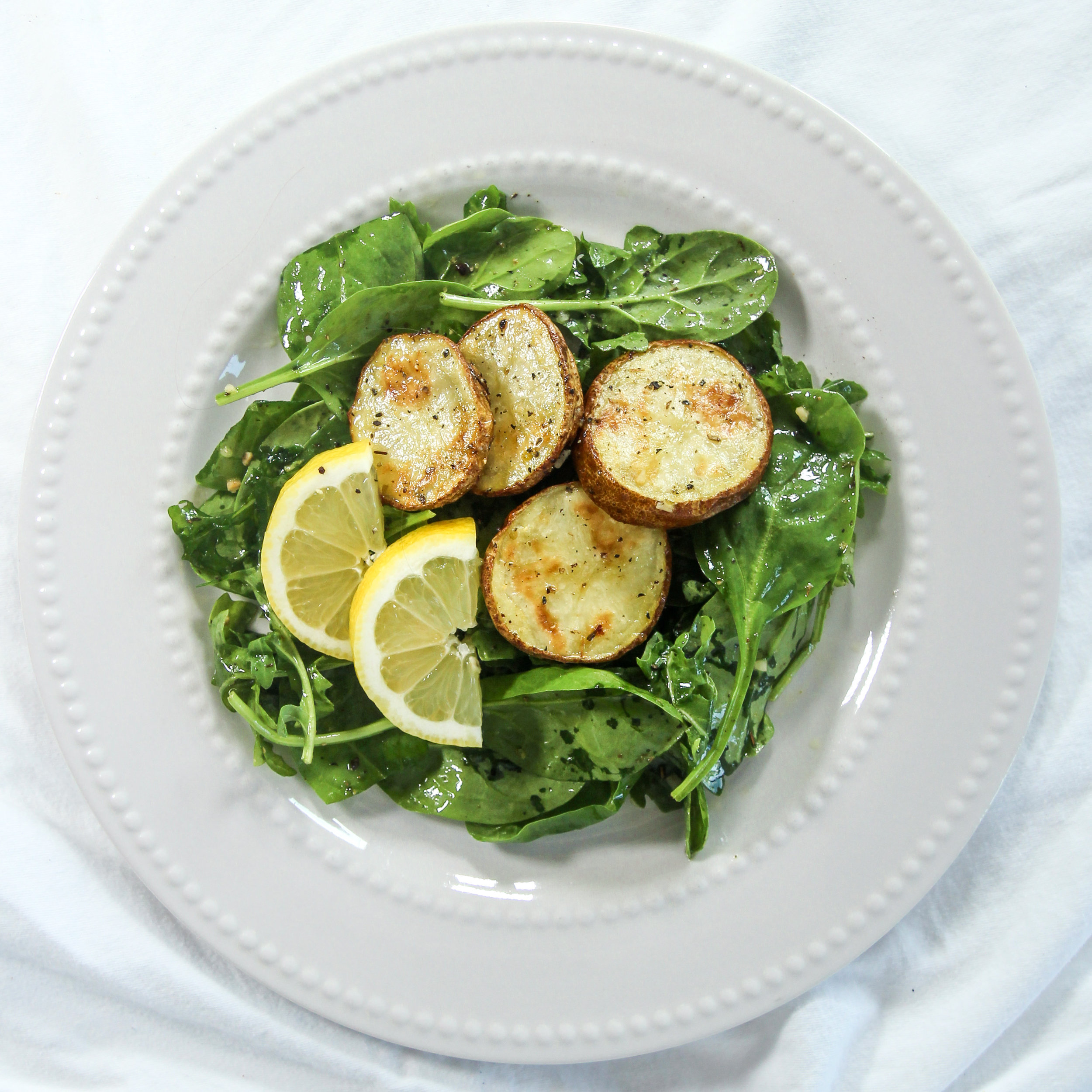 Spring Salad with Garlic Herb Roasted Potatoes (2).jpg