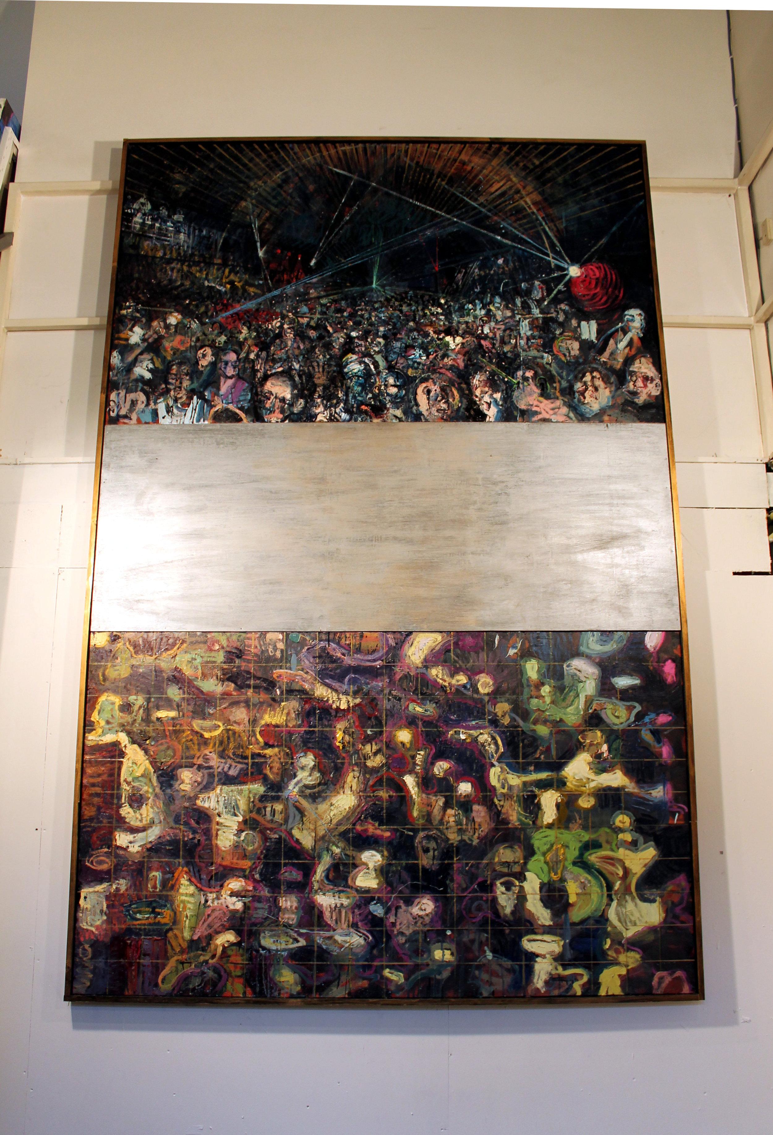 3. Nightclub, oil on canvas and board, 180 x 300 cm, 2017.jpg