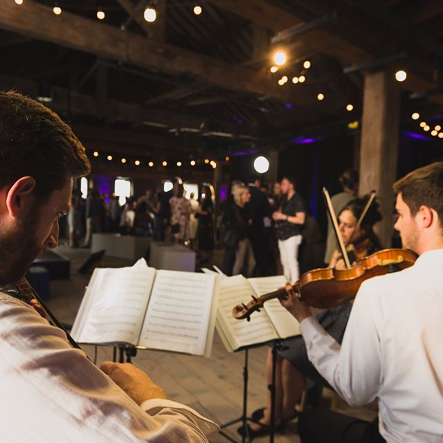 We had a great time last week playing for a @mifestival social event – it was a beautiful venue and a lovely atmosphere. Photo credit: Richard Tymon