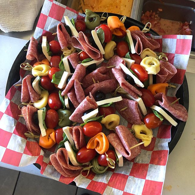 Antipasto skewers anyone?? You can find delicious appetizers like this on our new catering menu! . . . #BrooklynBrothers #sandwich #italianfood #cranston #providence #eatlocal #johnston #localeats #rifood #pvd #pvdeats
