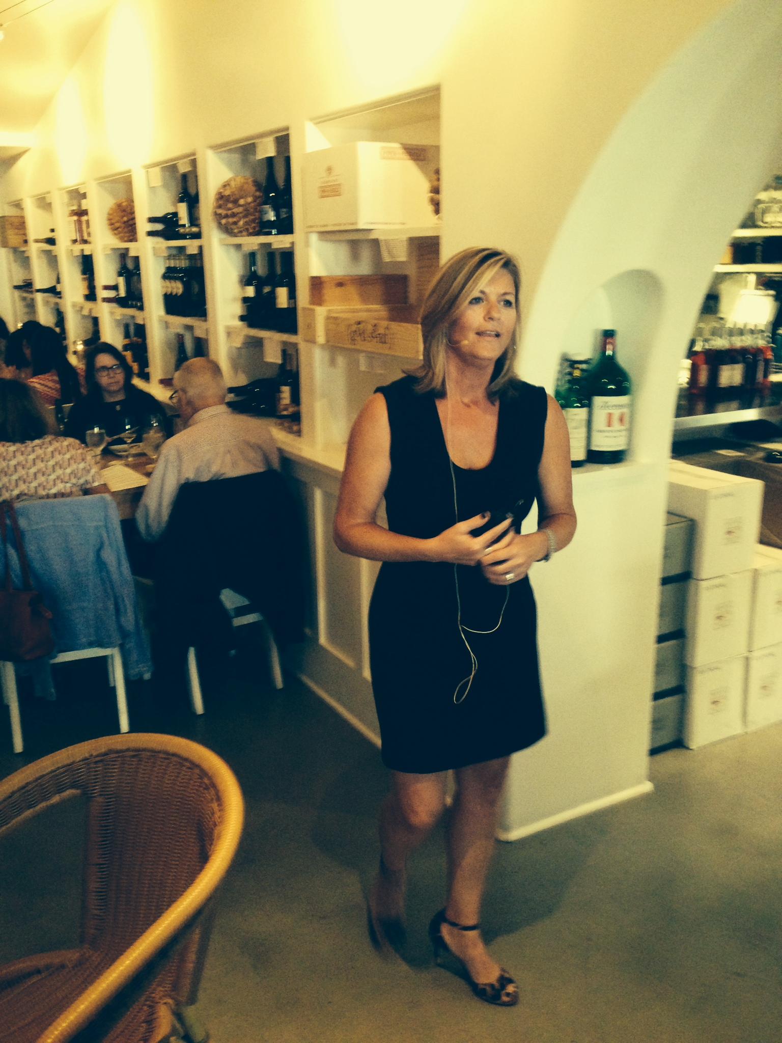 Maria Ponzi of Ponzi Vineyards