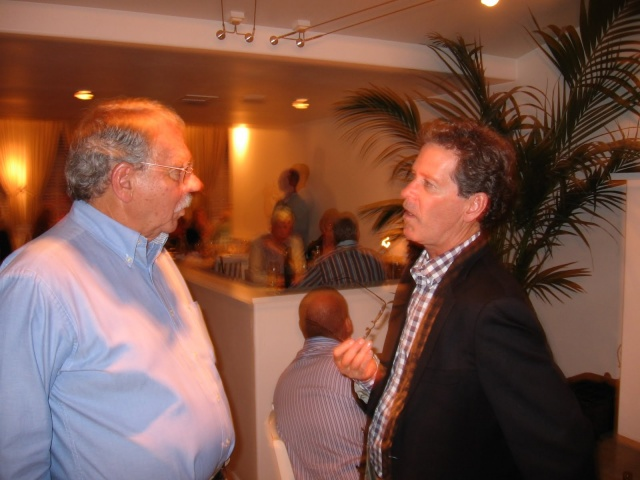 Paul Hobbs (right) of Paul Hobbs Winery