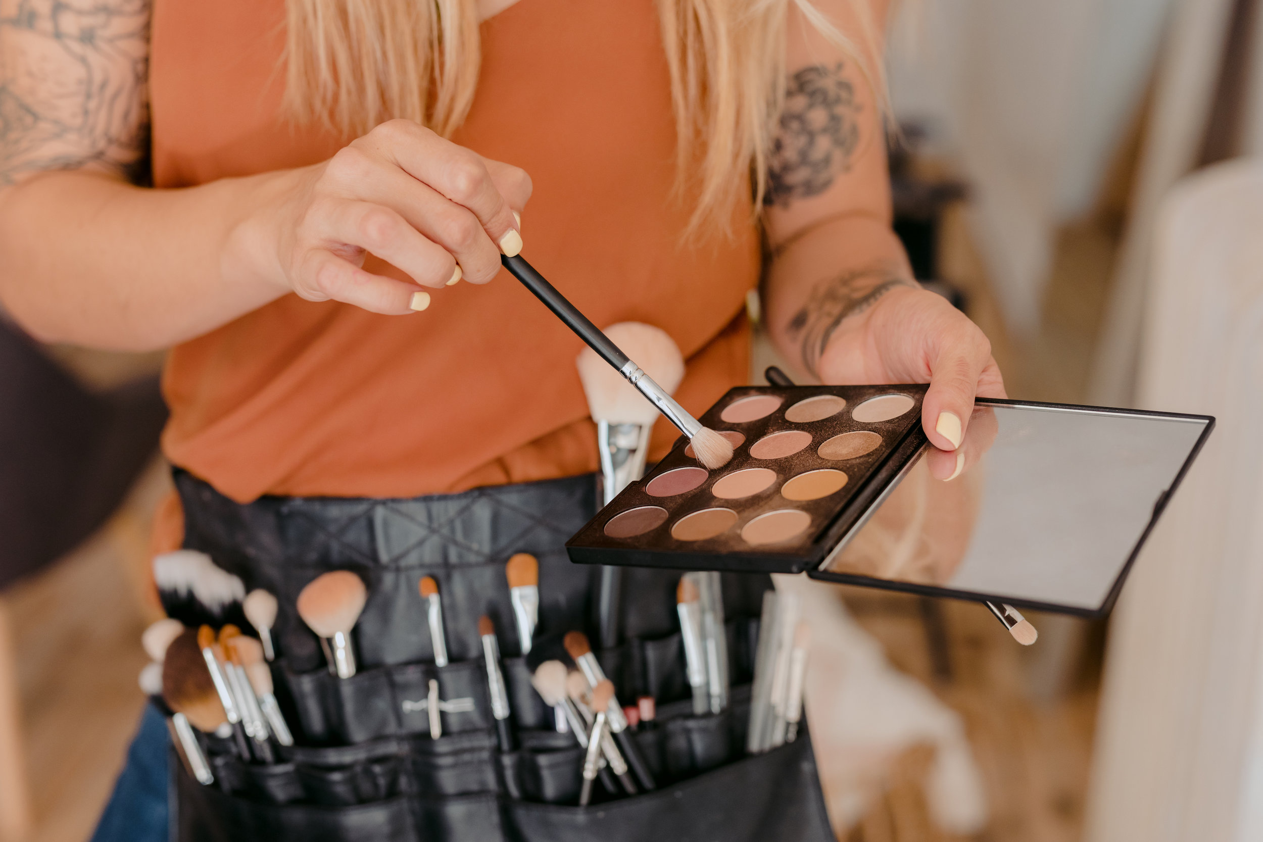 BRIDAL  - We offer private and group makeup sessions for everything from a wedding day glam squad to senior photos. We promise to help make your day effortless, beautiful and fun.
