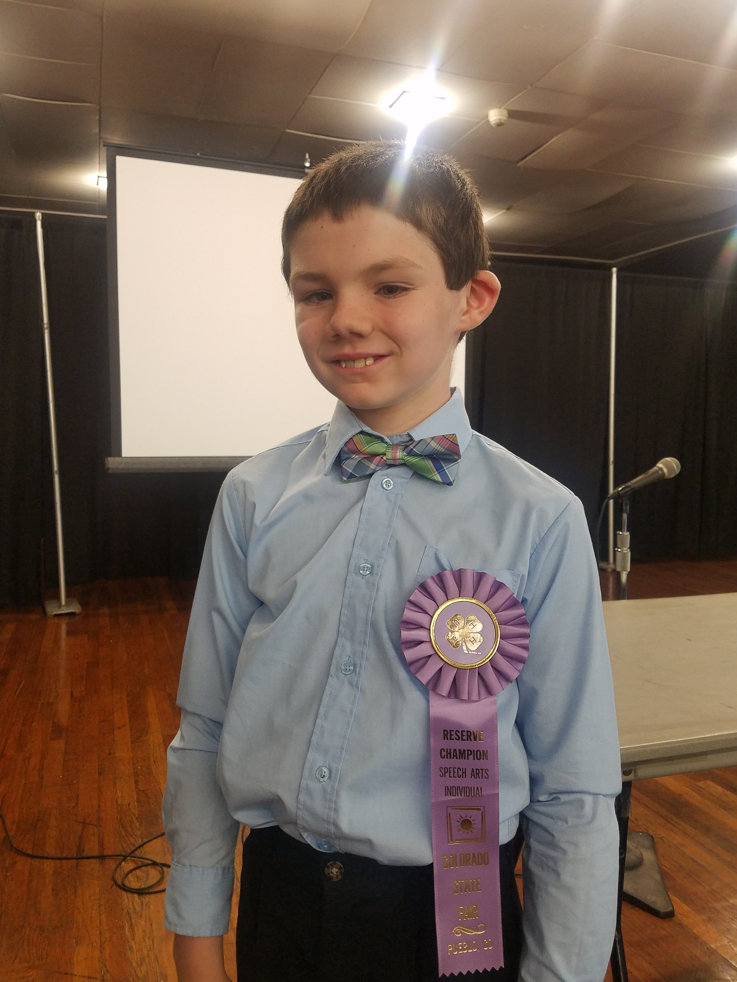 "In our ""stationary"" days, Travis was the resident ringer in 4-H ""demonstration"" competitions and Elementary Matchwits."