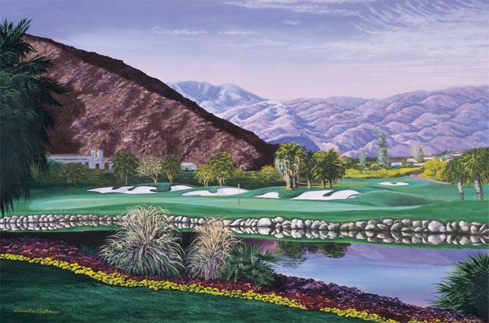The Tradition Golf Club at La Quinta, CA  No. 18