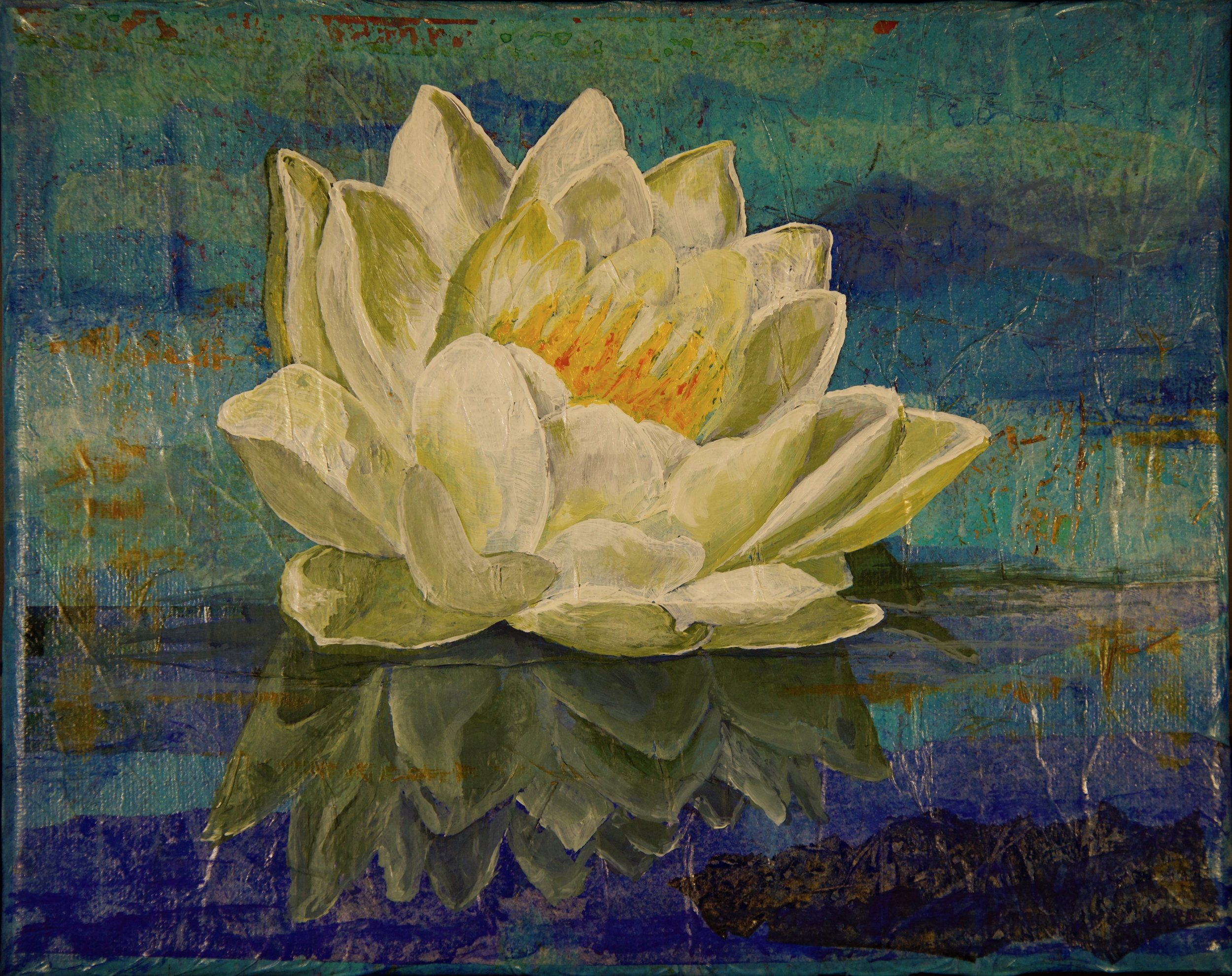 From the Kayak IV - Water Lily