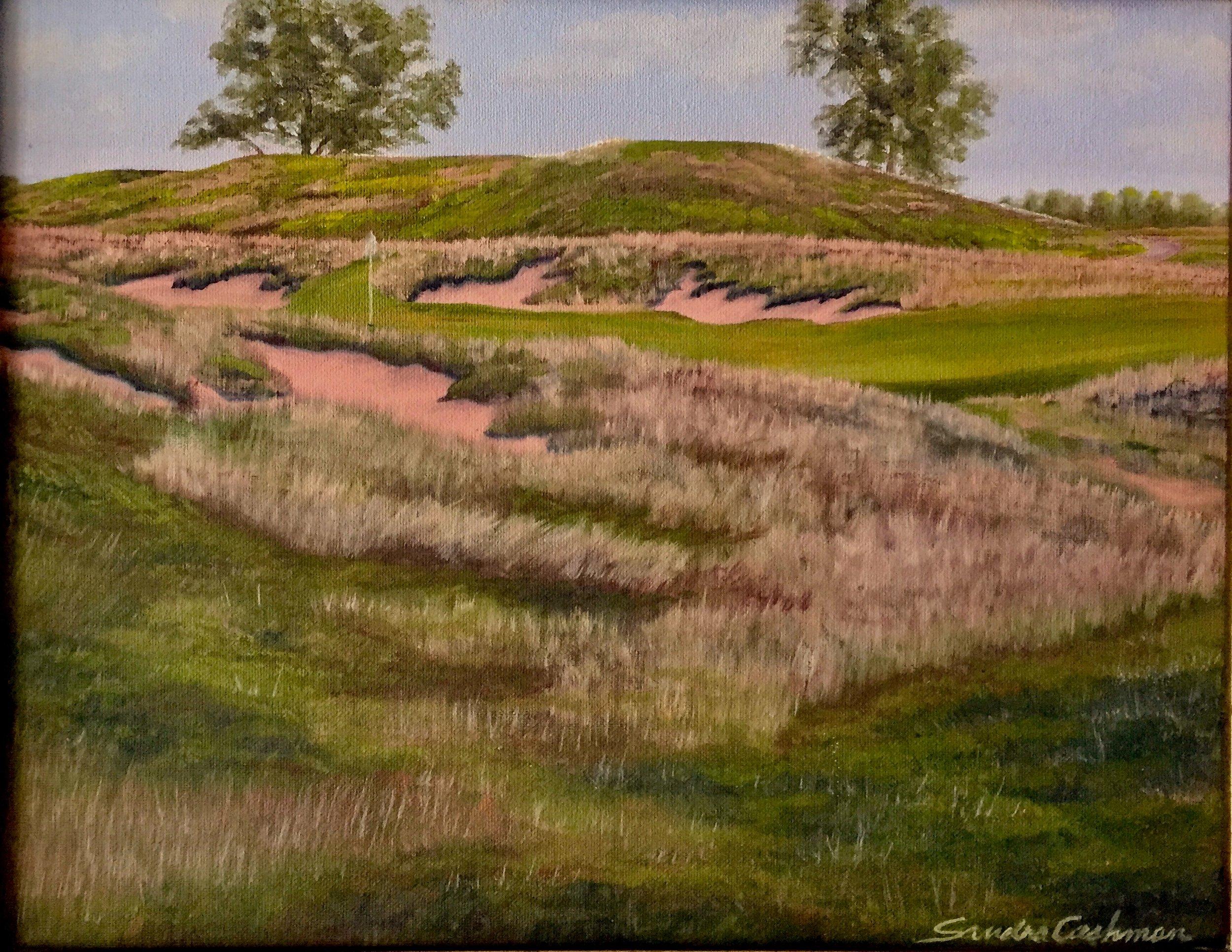 Erin Hills Golf Course no. 16 Erin, WI