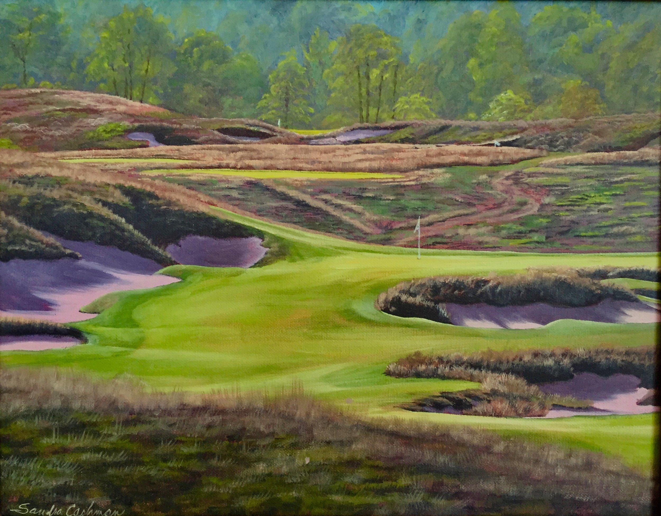 Erin Hills Golf Course no. 4 Erin, WI