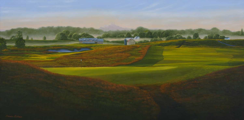 Erin Hills Golf Course No. 6 Erin, WI