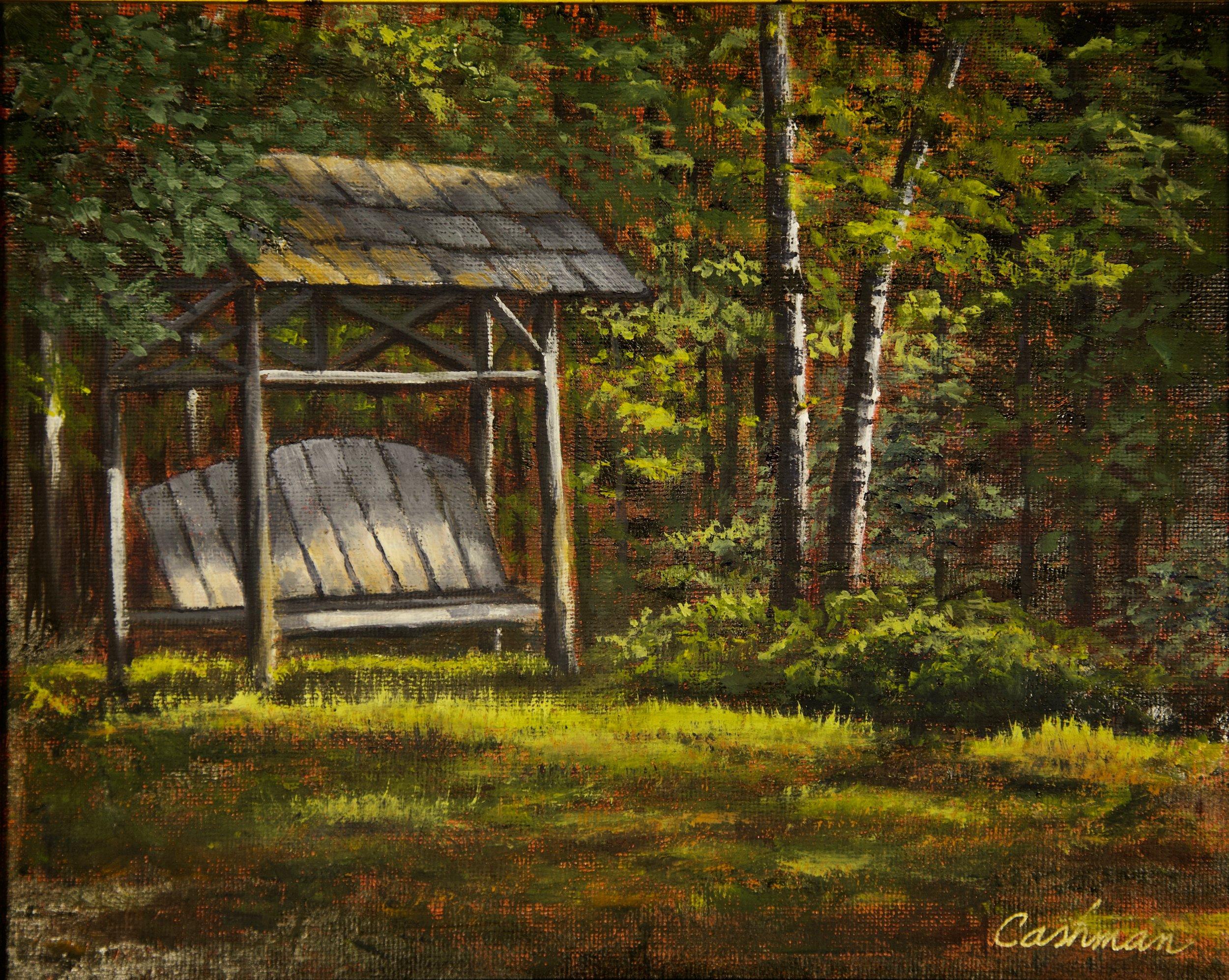 Deep Shadows at Cedaroma Lodge