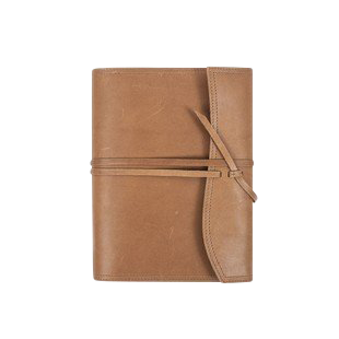 Medium Wrap Journal - Leatherology, $95.00