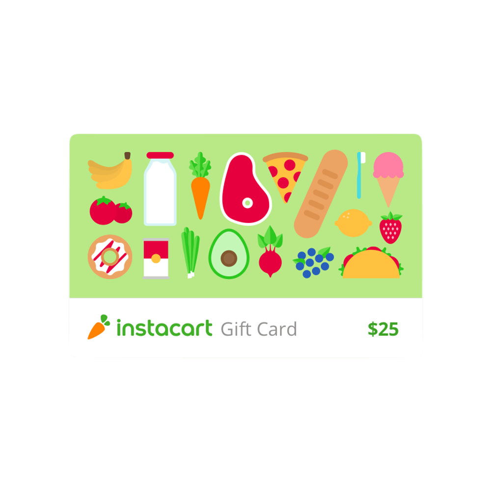 Instacart Gift Card - Instacart, Various
