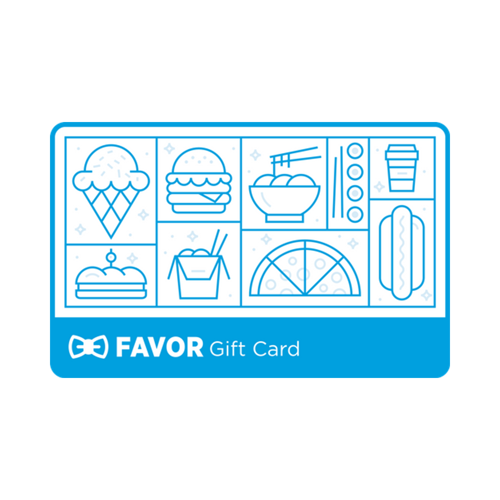 Favor Gift Card - Favor, Various