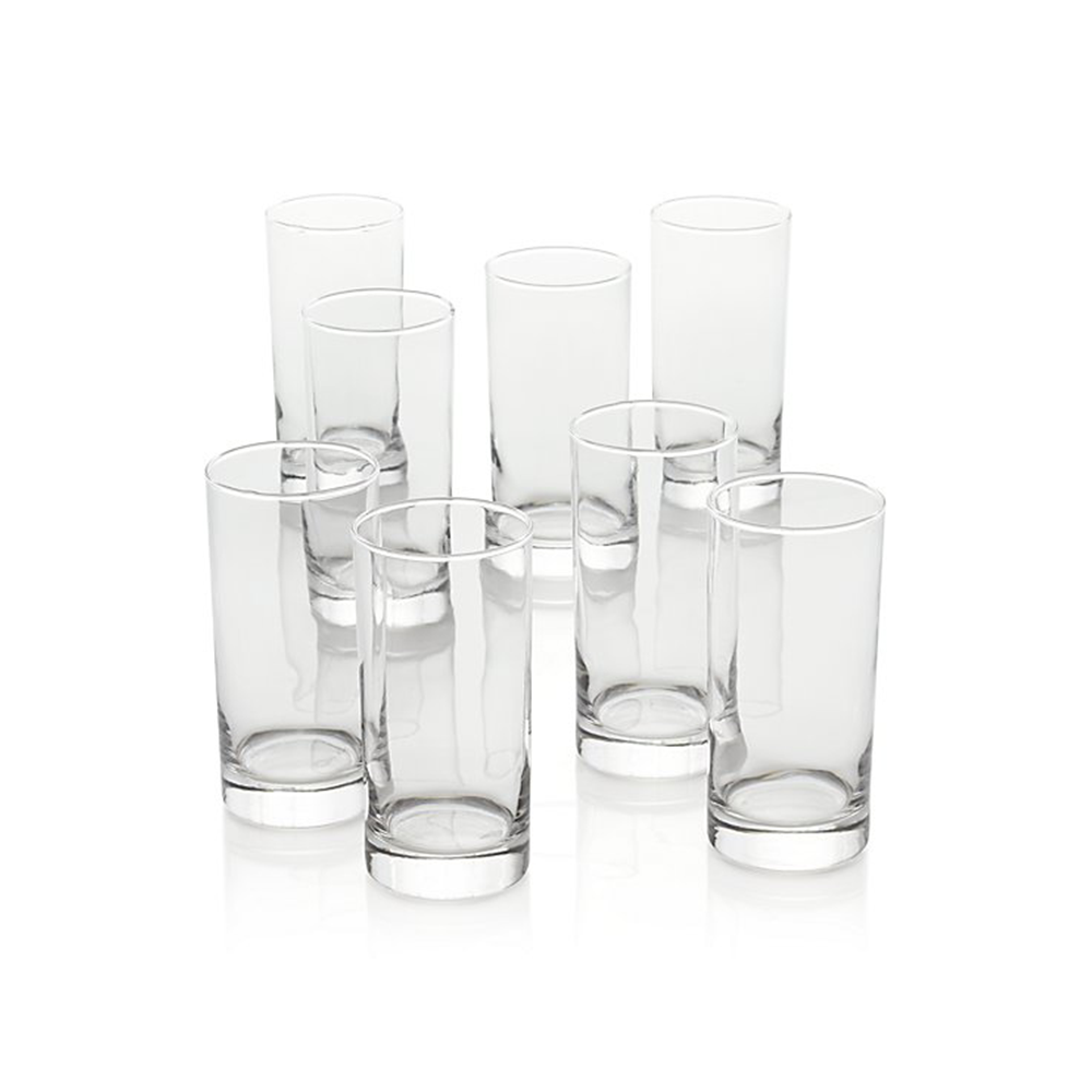 Boxed Highball Glasses - Crate and Barrel, $24.95