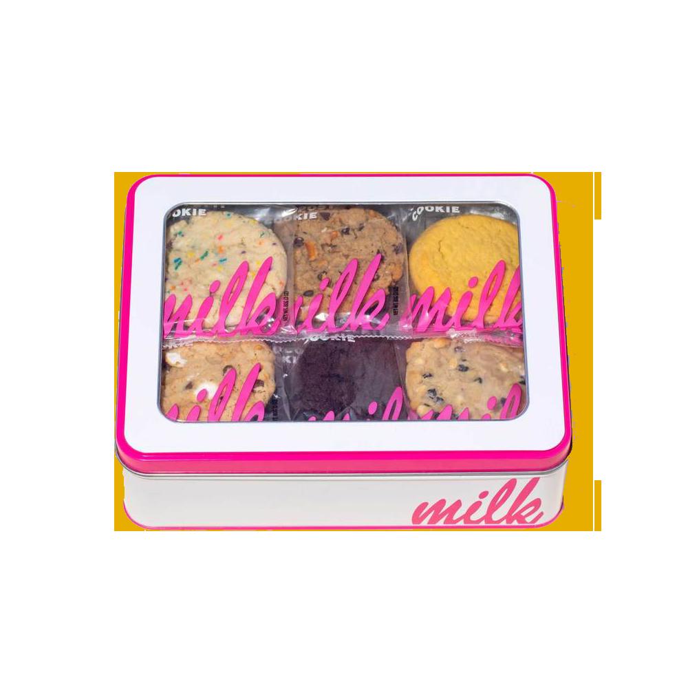 Dozen Assorted Cookie Tin - Milk Bar, $32.00