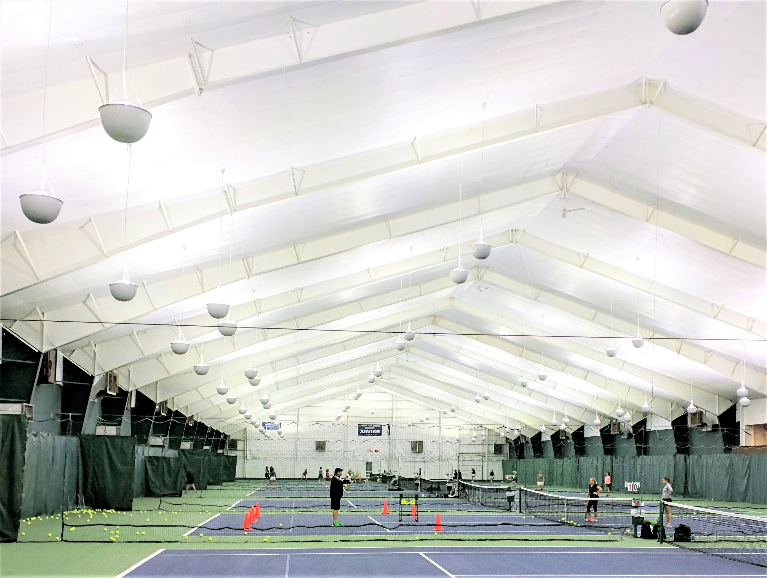 Eastern Hills Indoor Tennis Club - Cincinnati, OH  LED Court Lighting Purchase  Rebate Awarded: $22,050  Annual Savings: $24,305  Net ROI: 2.6 YRS