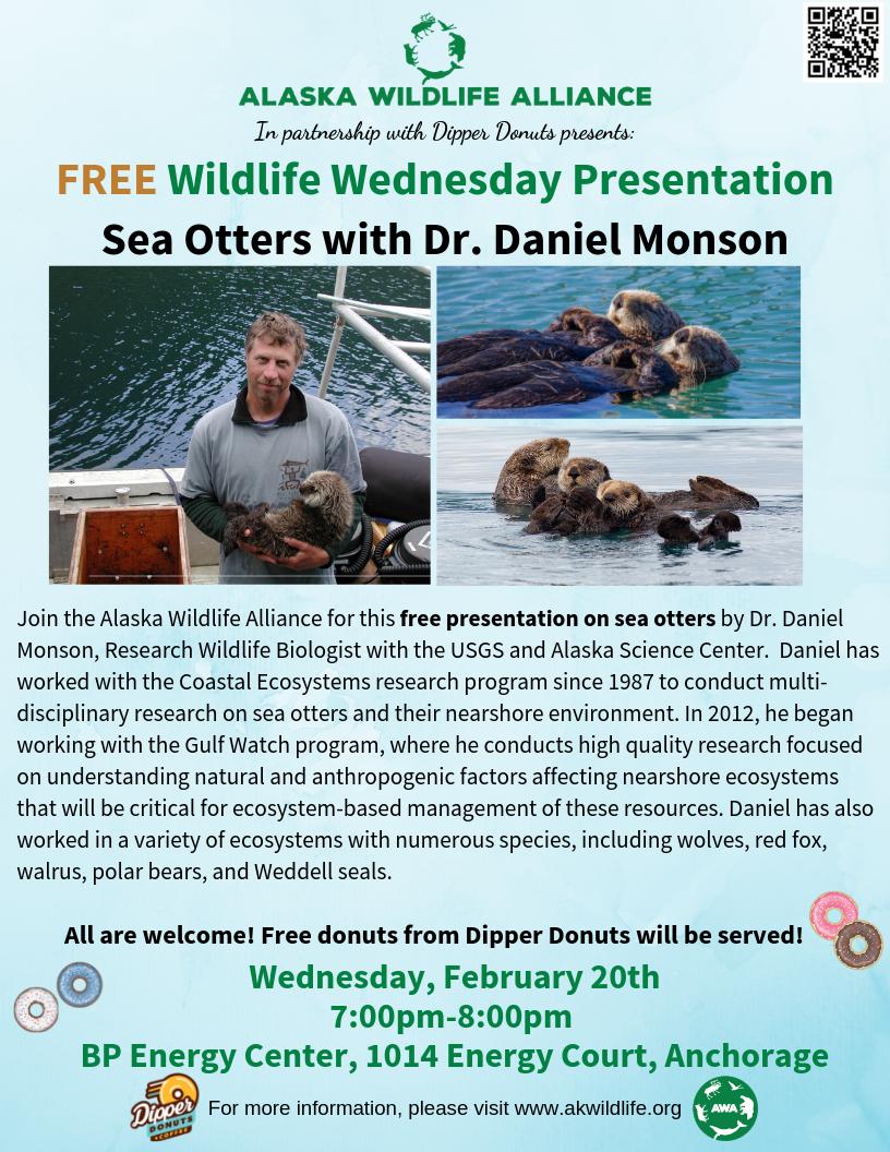 Dan Monson Wildlife Wednesday Dipper Donuts BP Energy Center.png