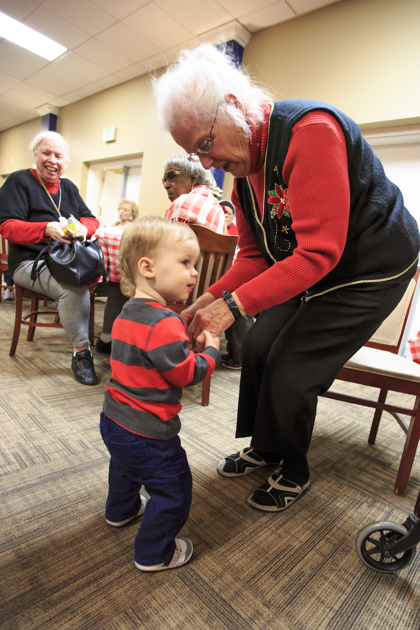 CARE - We serve others by developing vibrant, life-giving intergenerational relationships of care.