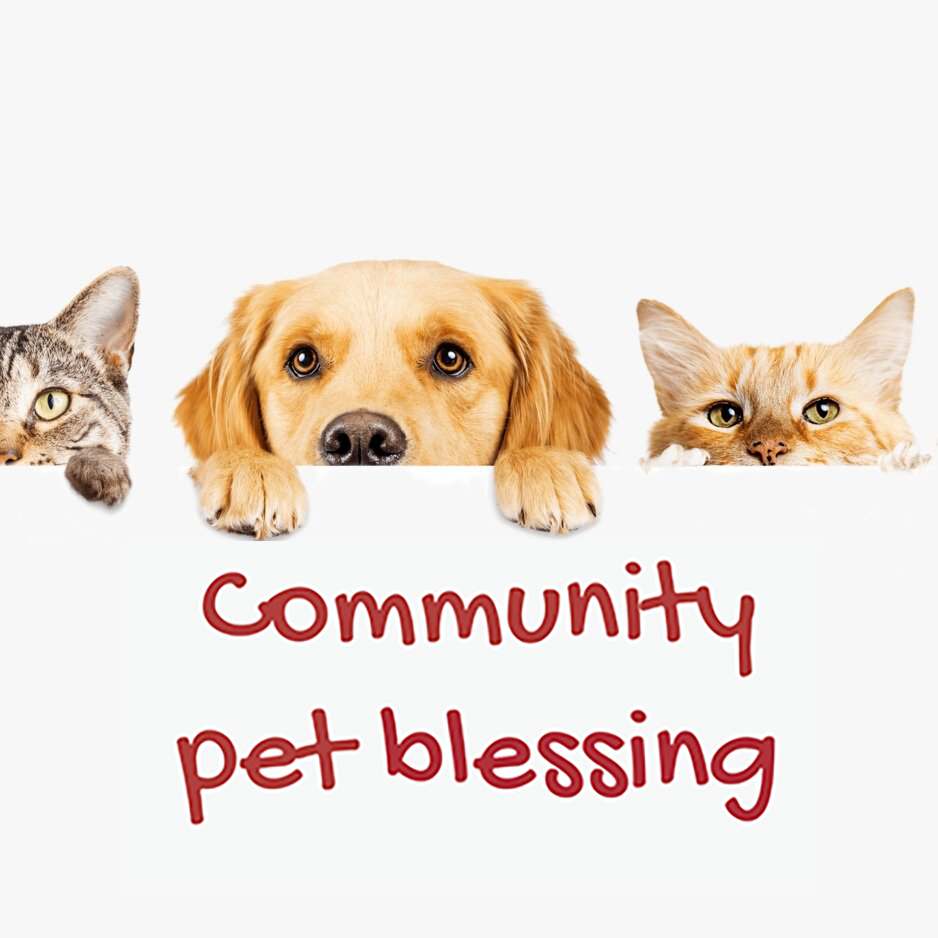 Community Pet Blessing - Saturday, October 26 | 11 am | PlaygroundJoin us as we bless your pets both big and small! St. Francis of Assisi, the patron saint of animals and ecology, had a deep and profound love for all of God's creation. In this same spirit we will celebrate the connection and love we share with our pets during our annual Pet Blessing.