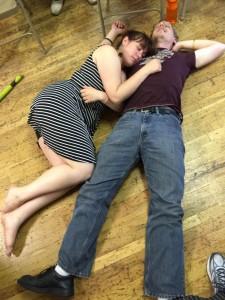 Sarah Elise & Marc Longhenry at Nocturne Blues 2015