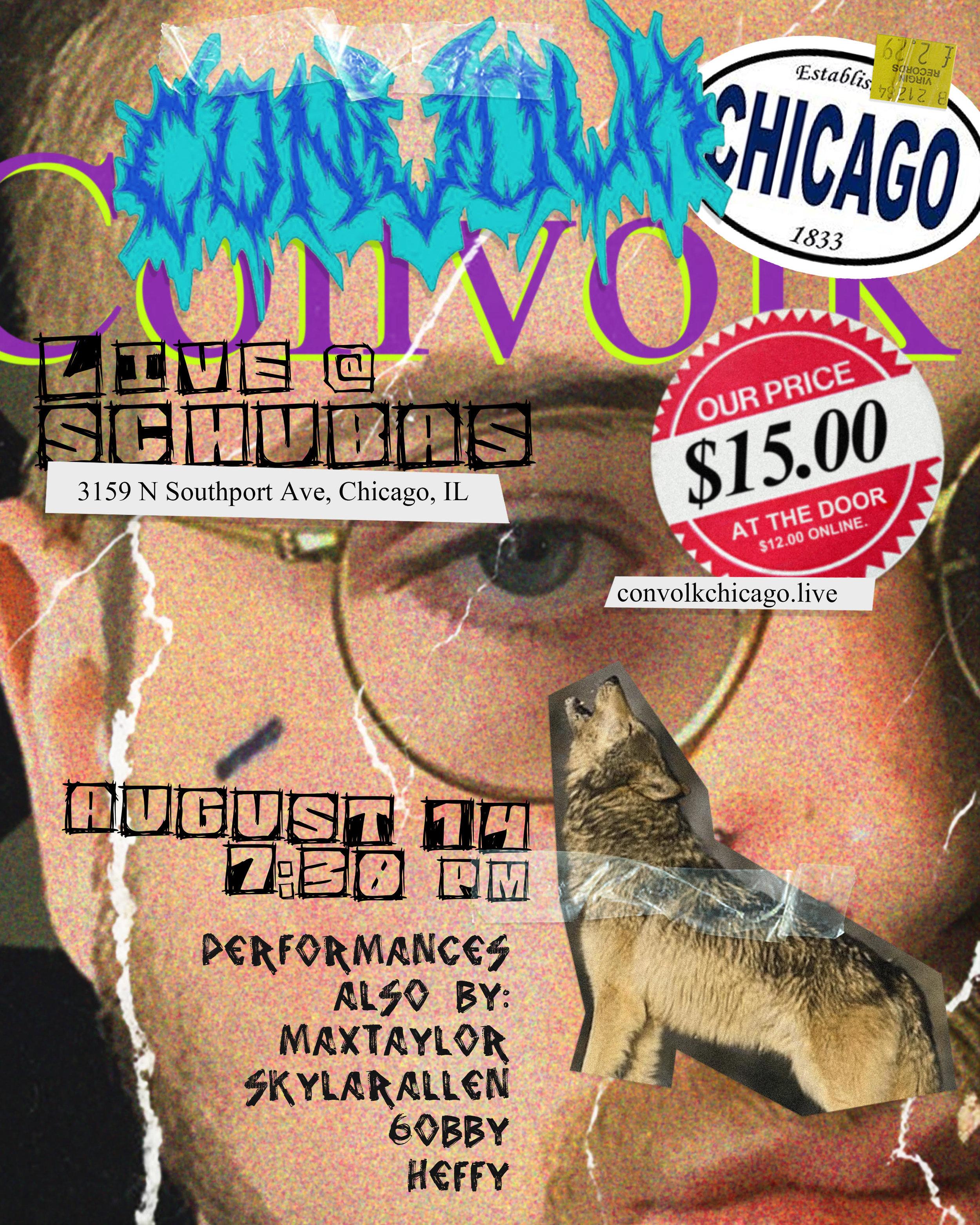 CONVOLK (CHICAGO) - CLICK HERE FOR TICKETS