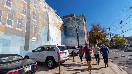 10th and Bainbridge Mural. See Philly Run.