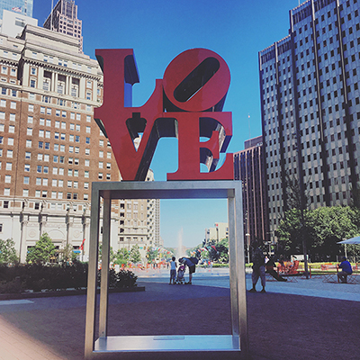 Copy of Love Statue SeePhillyRun