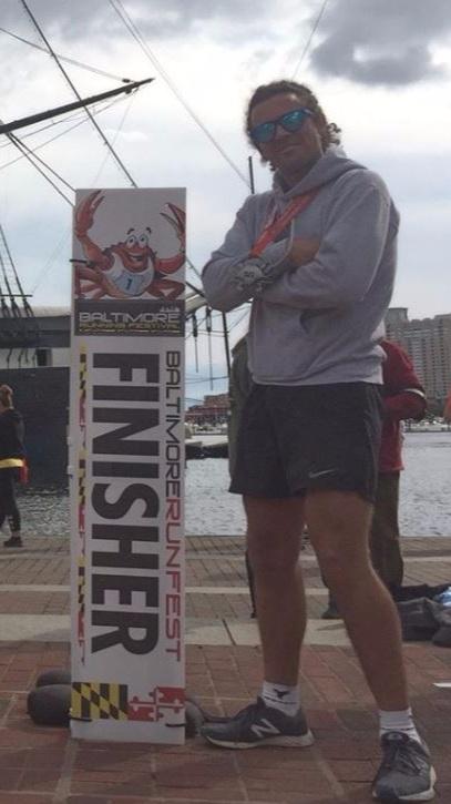 Baltimore Marathon Finish