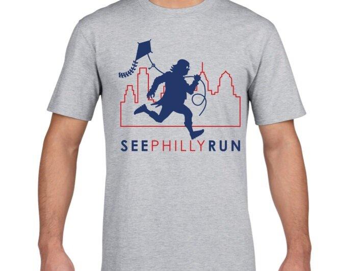 SeePhillyRun Tee Shirt. Ben looks good on you!