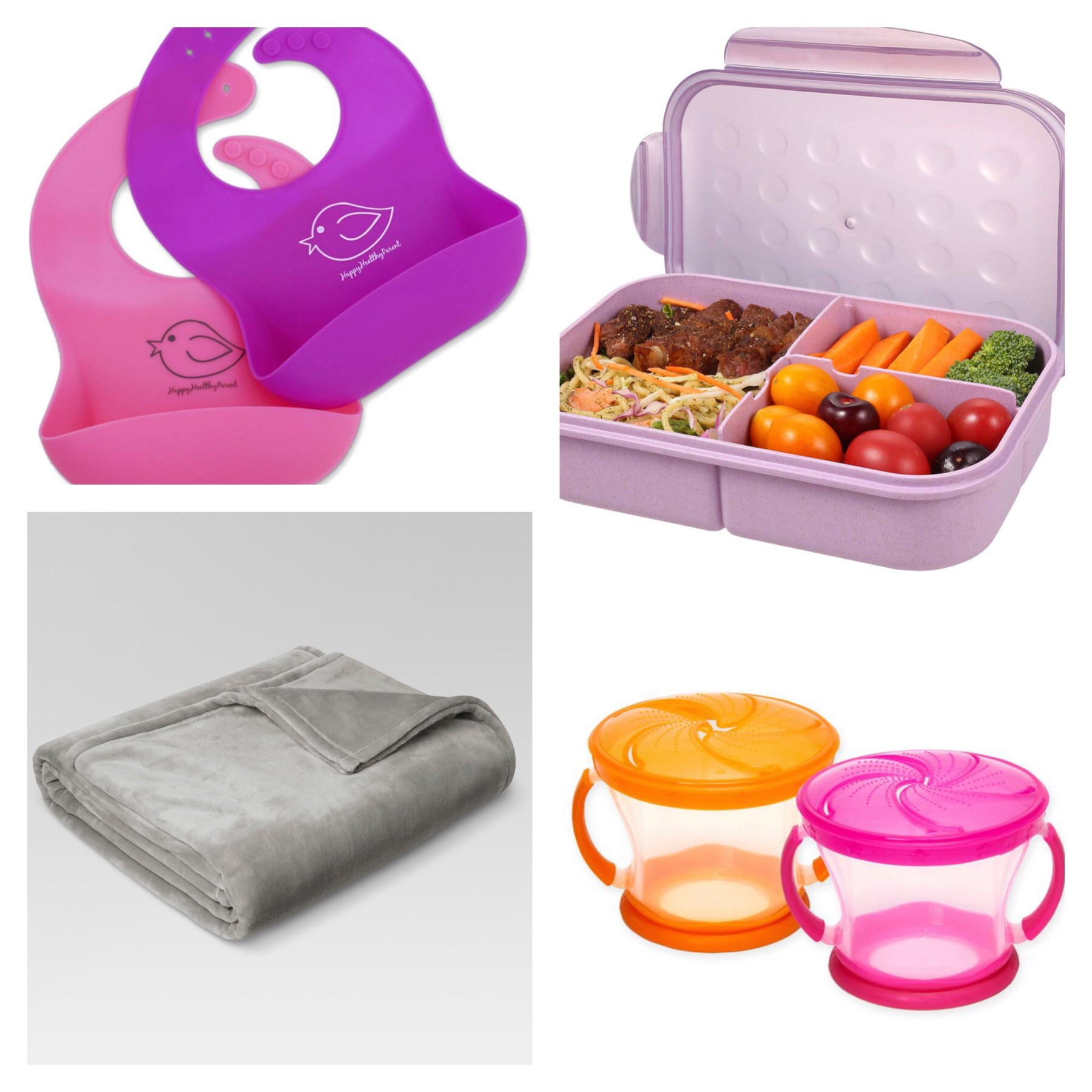 https://www.bedbathandbeyond.com/store/product/munchkin-reg-snack-catcher-reg-9-oz-snack-containers-set-of-2/5219814?skuId=65785058&&mrkgcl=609&mrkgadid=3253336654&enginename=google&mcid=PS_googlepla_nonbrand_kitchenaccessories_local&product_id=65785058&adtype=pla&product_channel=local&adpos=1o3&creative=232742510632&device=m&matchtype=&network=g&gclid=Cj0KCQiAgMPgBRDDARIsAOh3uyLsDYFs6JD9iwDkL_0eepWCHYA17uce4tMfuAJhVviXqf4CcbpKkpAaAjvrEALw_wcB&gclsrc=aw.ds    https://www.amazon.com/gp/aw/d/B0155VV6TC?psc=1&ref=yo_pop_mb_pd_title    https://www.amazon.com/gp/aw/d/B07DLDKCLH?psc=1&ref=yo_pop_mb_pd_title    https://www.target.com/p/microplush-bed-blanket-threshold-153/-/A-50950586?preselect=50928638#lnk=sametab   *I do not own the rights to the above images.