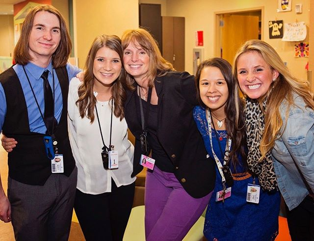 Check out this dream team from what feels like a million years ago! . . . #flashbackfriday #fbf #dreamteam #musictherapy #medicalmusictherapy #pediatrichospital #musictherapists #mtbc #musictherapyintern #musictherapyinternship @expressivetherapiesutah @nickfarr7 @kmpsmalley @lyndibenson @sophiesplacemusic