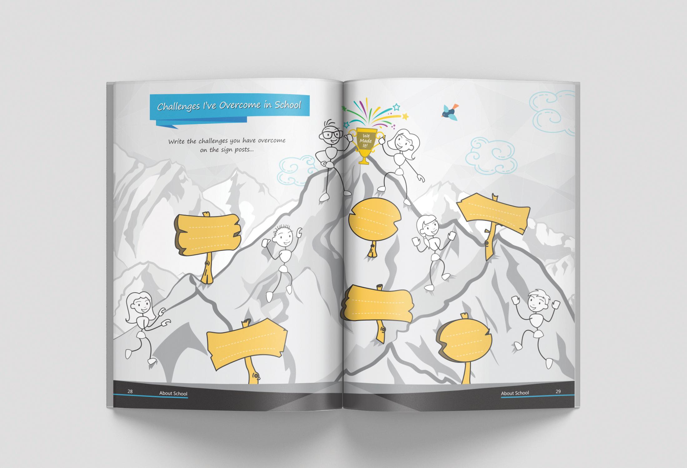 Learner Identity Book Design