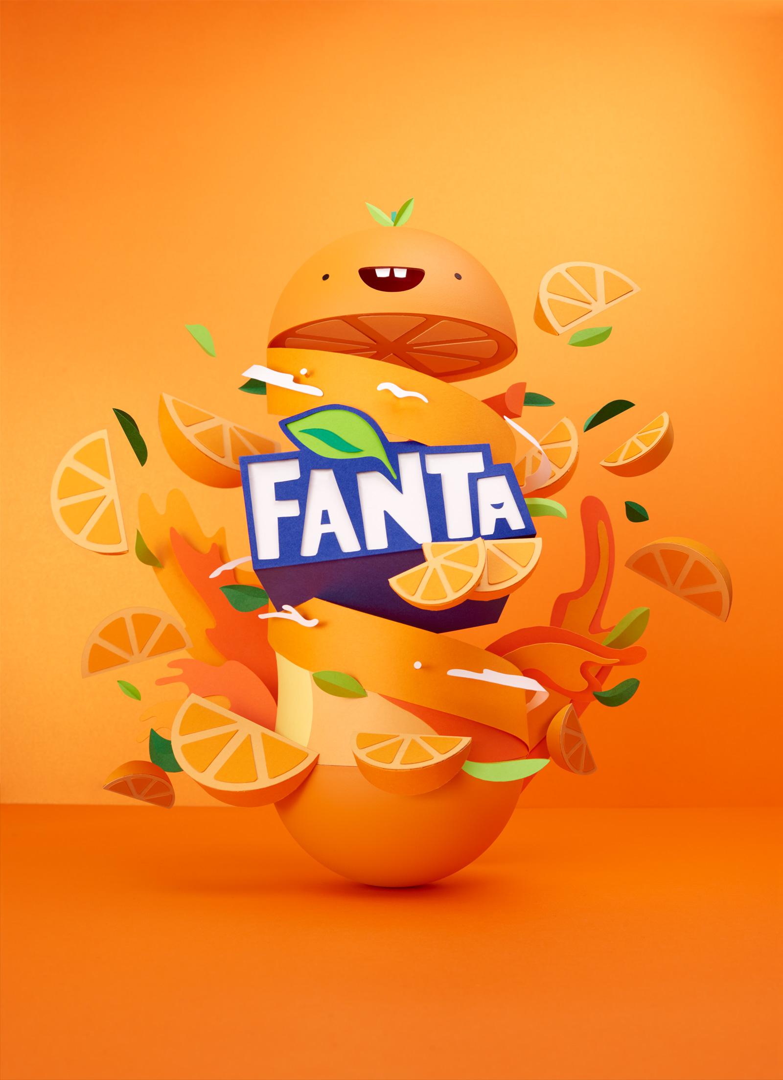 Fanta Poster by Lobulo Studio's - www.lobulostudio.com