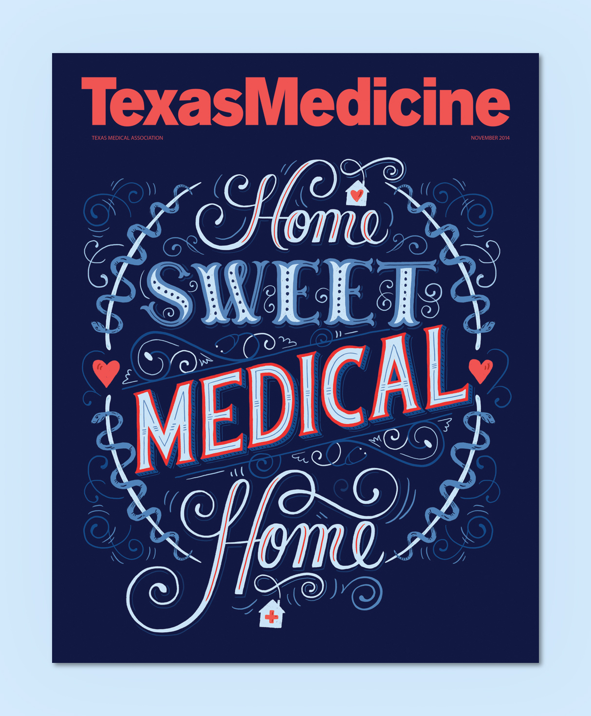 Texas Medicine Cover by Mary Kate McDevitt - www.marykatemcdevitt.com