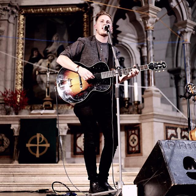 Incredible acoustics in the St. Lukas Kirche. #stlukas #church #kirche #munich #munichmusic