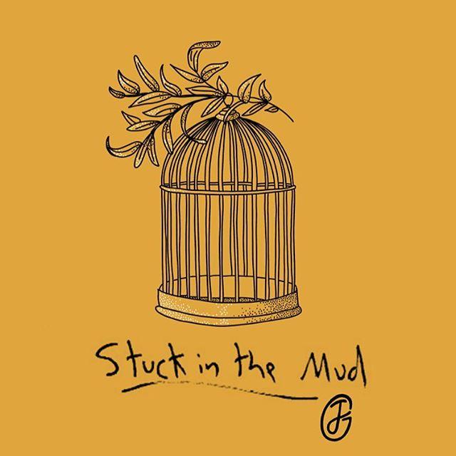 Stuck in the Mud . EP Release at @muffatwerk 21.11.2018. Tickets available - Links in bio #Muffatcafé #munichmusic #ep #eprelease #artwork #illustration #stuckinthemud