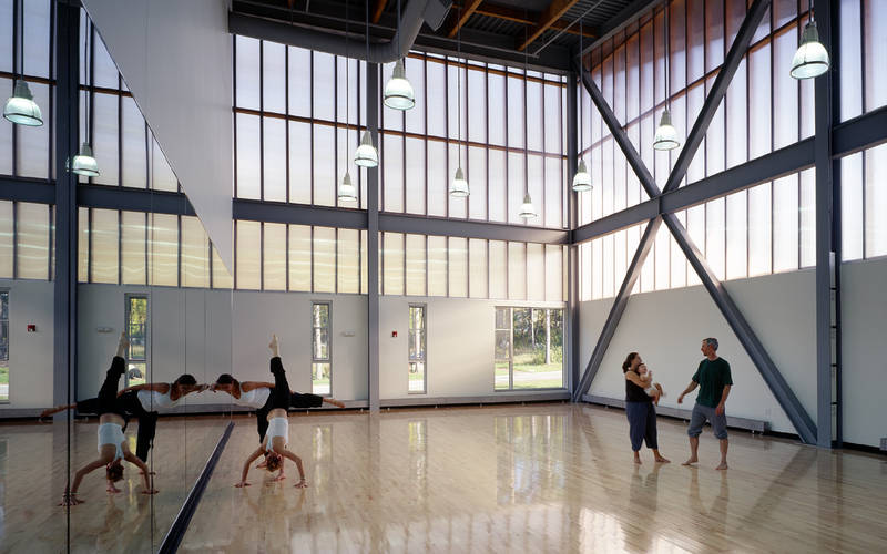 Our dance studio is state-of-the-art and a very special place to train.