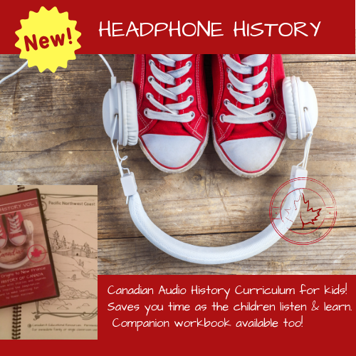 Our Signature Product- Headphone History Audio + Workbook