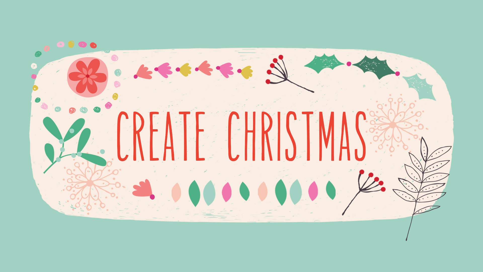 Create Christmas - Registration now closed - Course starting Mon, Jan 7th, 2019.A three week, online course about Christmas art. You'll learn about this important commercial theme, experiment with styles and techniques, and create Christmas art in a way that's new and exciting to you. Each week you'll receive a detailed and informative written design brief, a beautiful mood-board full of inspiring imagery, and a unique, commercial colour palette.