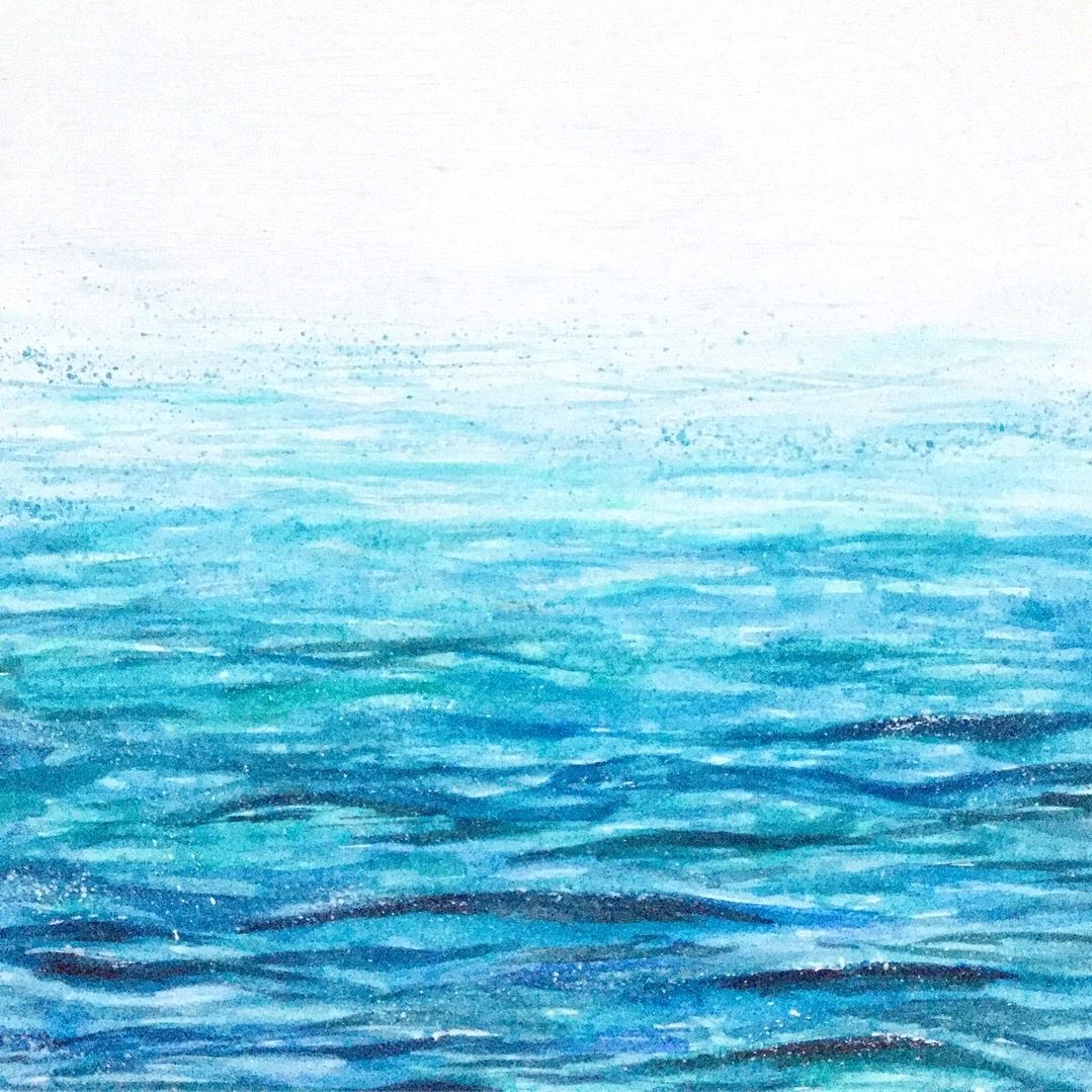 Blue - A series of pieces celebrating the beautiful blues of the ocean
