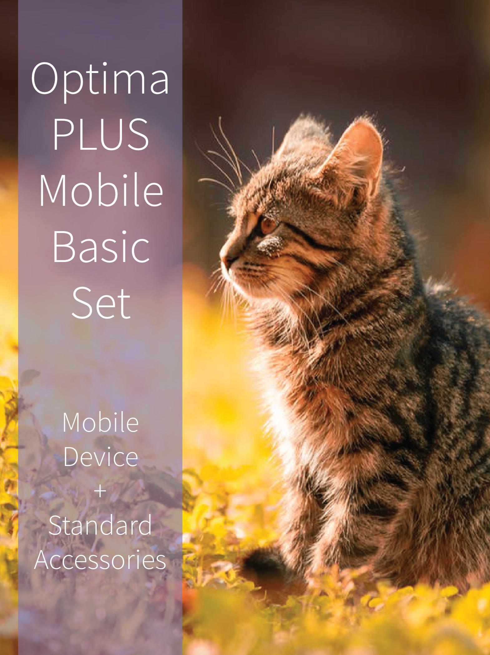 Bicom Optima PLUS Mobile basic set for Bicom therapy.