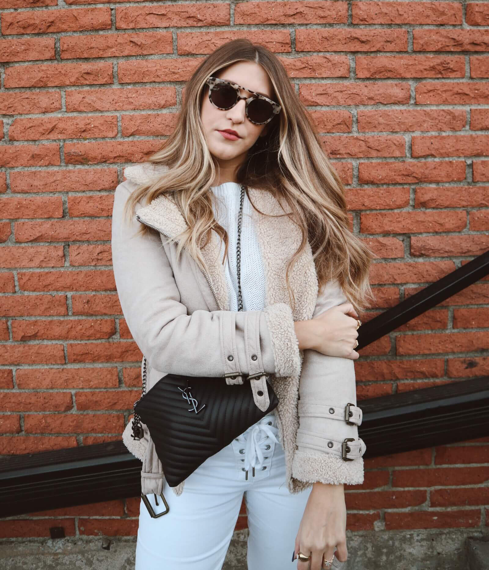 Winter White Outfit Trend. The trend of the season is not going anywhere! I outline how you can rock winter white. Simply Heather Rose