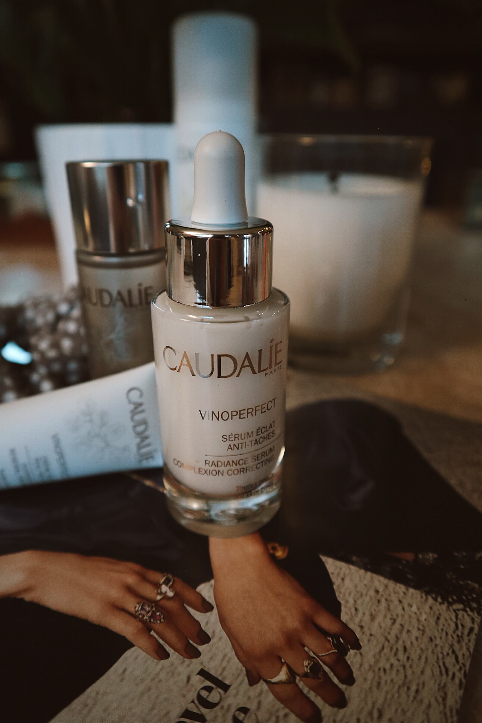 My Miracle Dark Spot Serum. The Caudale Radiance Serum is what dreams are made of. This is my #1 skincare must have.