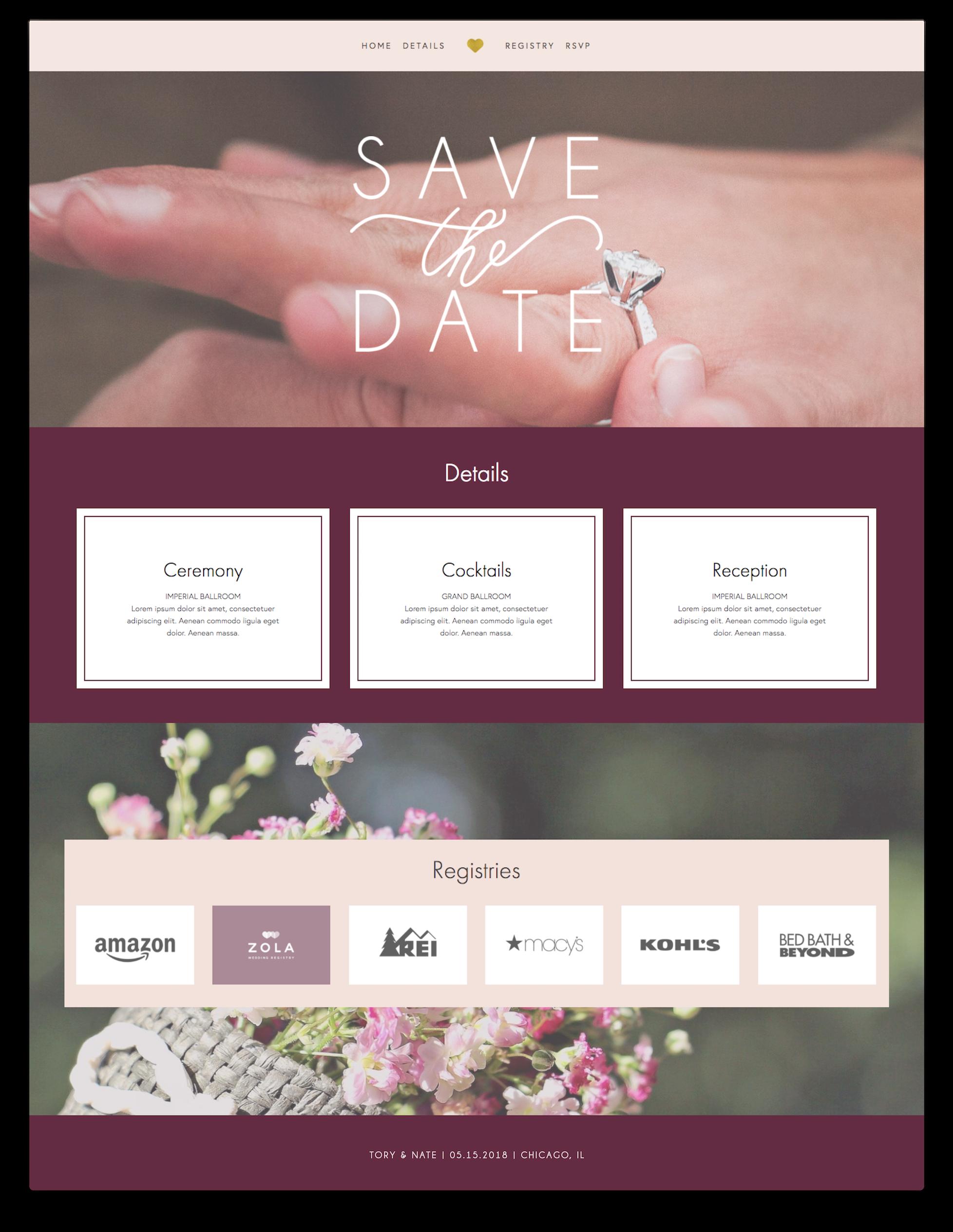 tory-nate-wedding-website