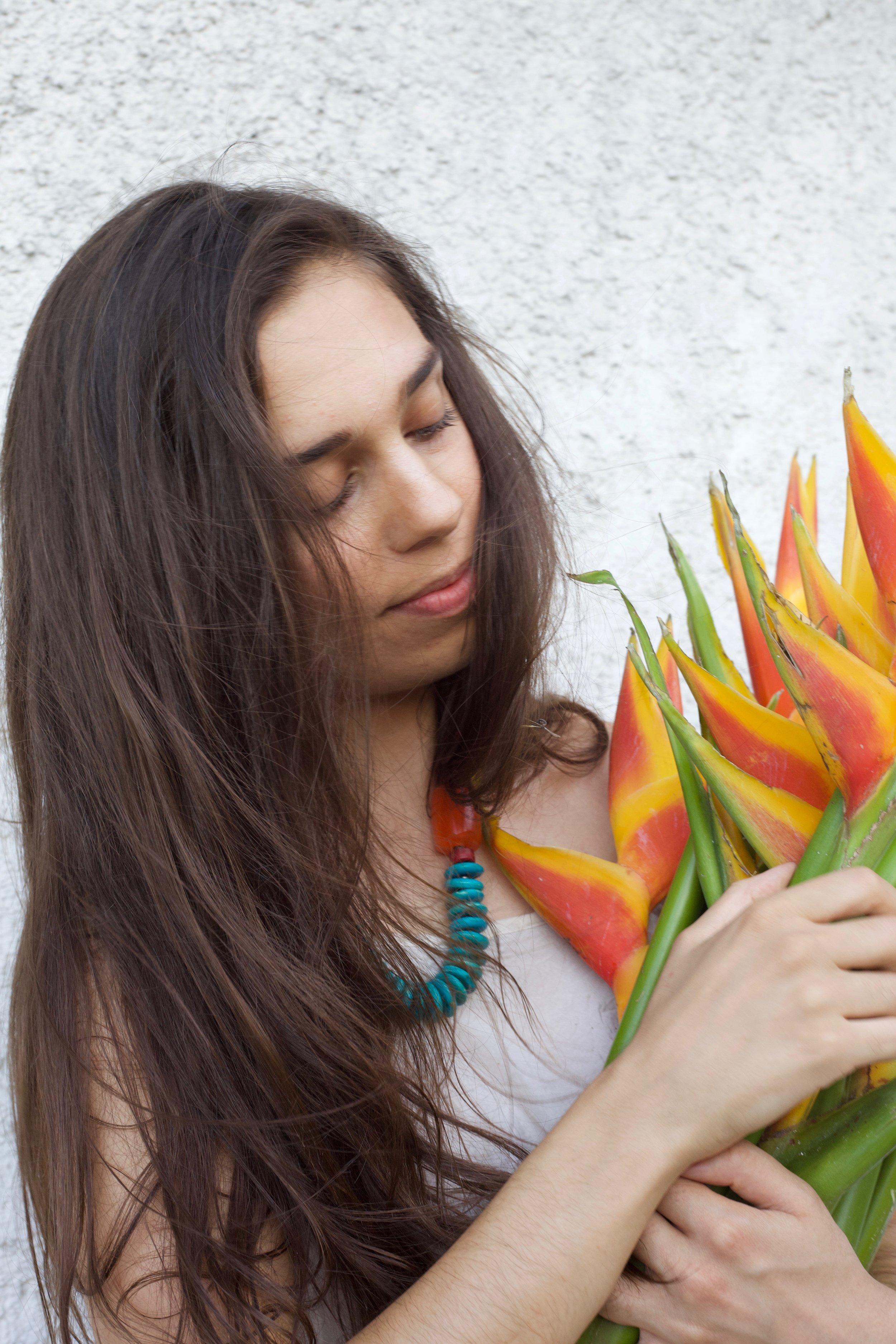 Arm Full of Flowers