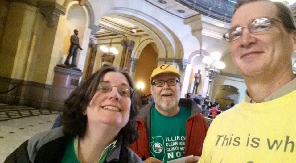 Lobbying in Springfield, IL -