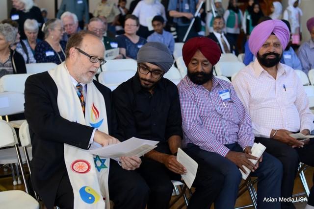 Solidarity Vigil after an assault upon a Sikh citizen